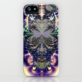 Fractal Owl iPhone Case