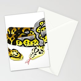 Snake Piece #14 - The Clown & The Harlequin Stationery Cards