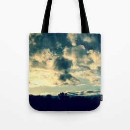 The Clouds Above Tote Bag