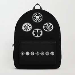 Factions black & white Backpack