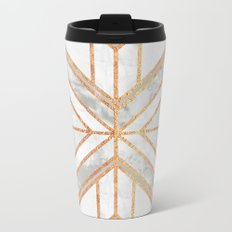 Geo Marble Dream Metal Travel Mug