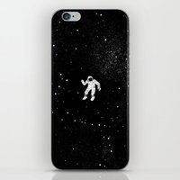 gravity iPhone & iPod Skins featuring Gravity by Tobe Fonseca