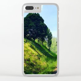 Walk Past a Hill Clear iPhone Case