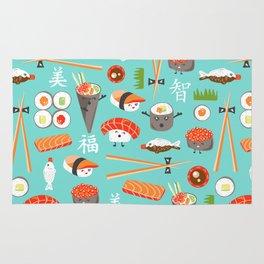 Happy Sushi Rug