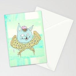 PIZZACAT I Stationery Cards