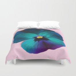 Viola tricolor Duvet Cover
