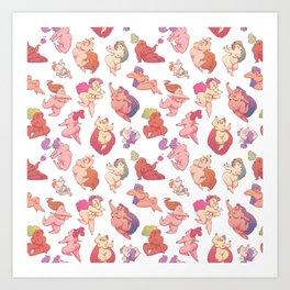 Cherubs Art Print