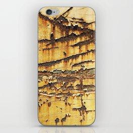 Rusted Metal rustic decor iPhone Skin
