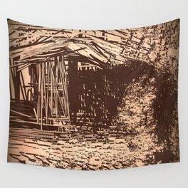 Hidden Shack Wall Tapestry