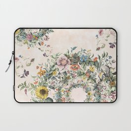 Circle of life- floral Laptop Sleeve