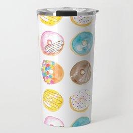 I Eat Donuts, Man Travel Mug