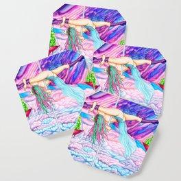 Pole Stars - LIBRA Coaster