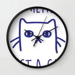 I'M REALLY JUST A CAT Wall Clock