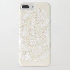 Eleven Sleepy Cat iPhone 7 Plus Slim Case