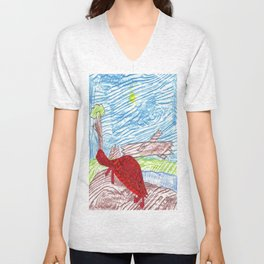 Box Turtle Unisex V-Neck