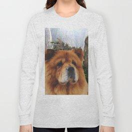 Dog Chow Chow Long Sleeve T-shirt