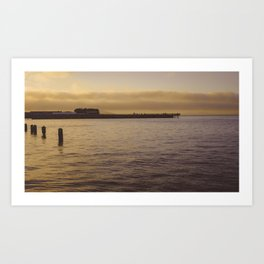 A Golden Hour Art Print
