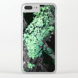 Lichen Clear iPhone Case