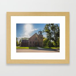 Holy Trinity Catholic Church, Fingal, North Dakota 3 Framed Art Print