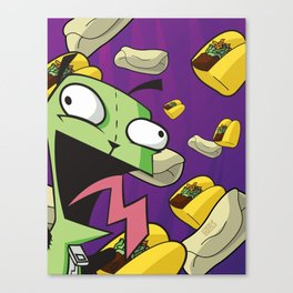 Tacos and Burritos!! Canvas Print