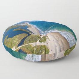 Moonstone Barrier Beach, South Kingstown, Rhode Island South County Floor Pillow