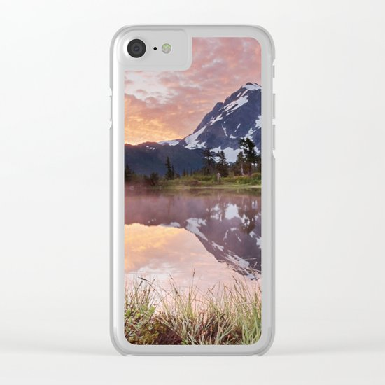 Mt Shuksan Clear iPhone Case