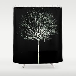Slim Twig Shower Curtain