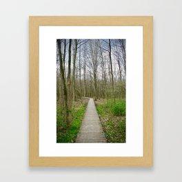 Wherever You May Go Framed Art Print