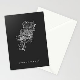 JOHANNESBURG Stationery Cards