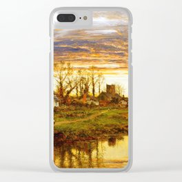 Peaceful Farmers Village At Swamps Ultra HD Clear iPhone Case