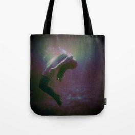 Drowning Glitch Tote Bag