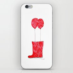 balloon boots iPhone & iPod Skin