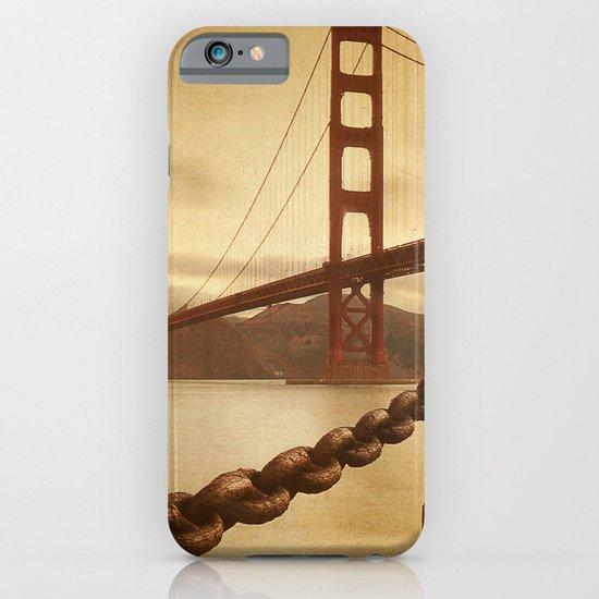Vintage Golden Gate iPhone & iPod Case