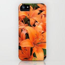 Orange Lillies iPhone Case