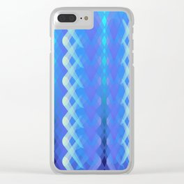 ZS AD Geometric Squares V 1.1.3.6. S6 Clear iPhone Case