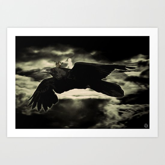 searching for what I haven't lost Art Print