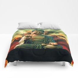 Buddha Sunrise Comforters