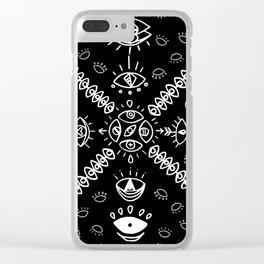 Eye Bandana Clear iPhone Case