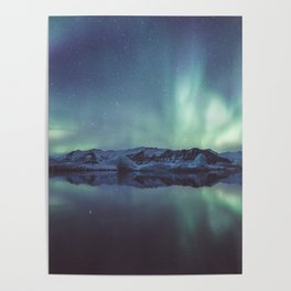 Jokulsarlon Lagoon - Landscape and Nature Photography Poster