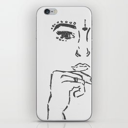 Boho Girl iPhone Skin