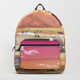 A time to reflect. Backpack