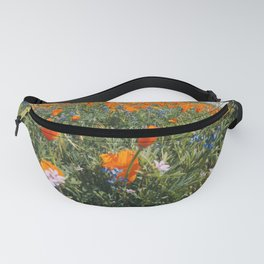 California Wildflower Superbloom Fanny Pack