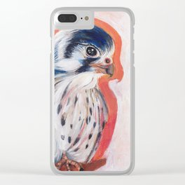 Baby Falcon Clear iPhone Case