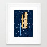8bit Framed Art Prints featuring 8Bit Bad by Atomic Rocket