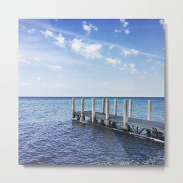 Blue Summer Days Metal Print