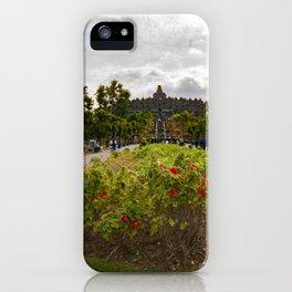 THE GOD BOROBUDUR iPhone Case