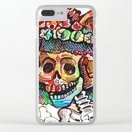 Katrina Guadalupe Clear iPhone Case