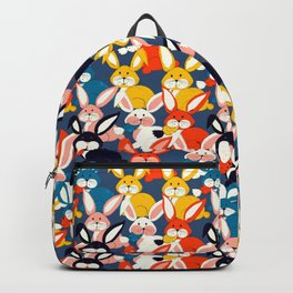Rabbit colored pattern no2 Backpack