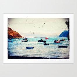 Float On - Original Photographic Work Art Print