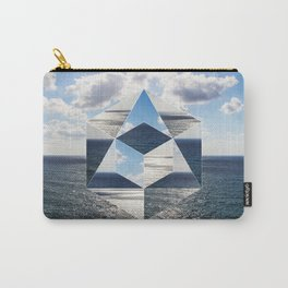 Sacred geometry Seaview Carry-All Pouch